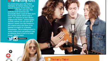 Kerri Medders in Tiger Beat Music Issue Memory Maker